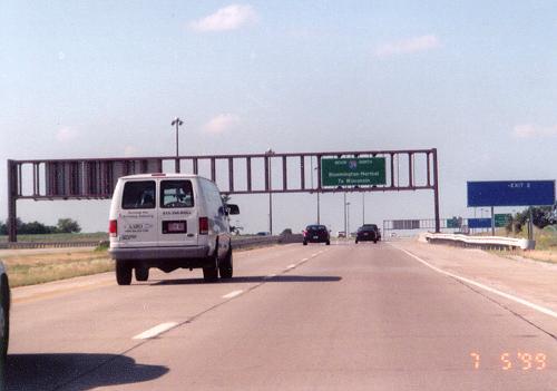 along northbound I-39  I 39
