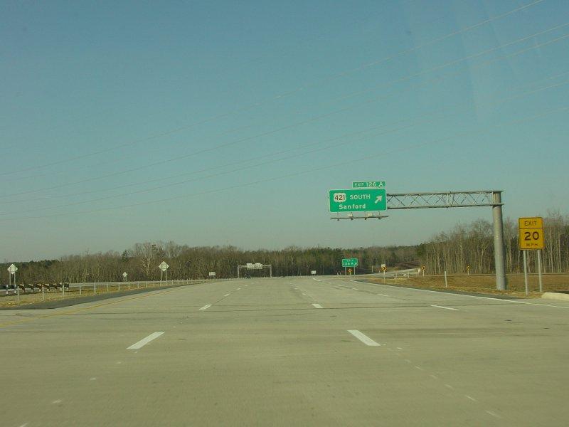 I-85 Greensboro, NC Loop - Southbound