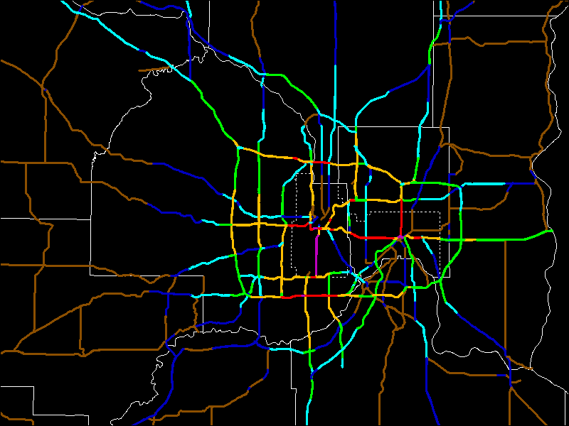 Twin Cities Traffic Counts and Speed Limits