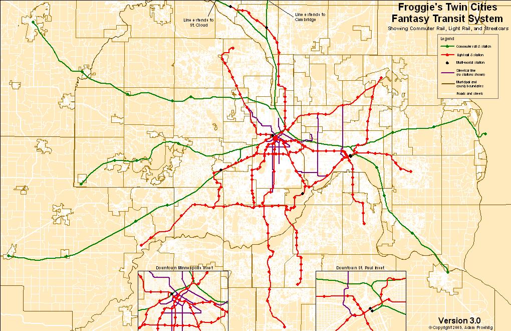 Minneapolis Light Rail Map Pdf